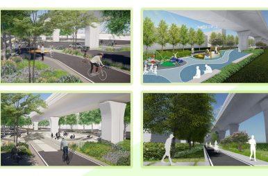接續前朝「綠空鐵道」計畫
